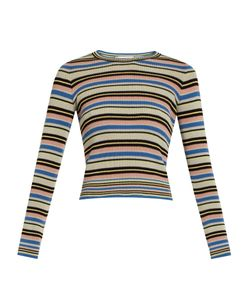 Valentino | -Striped Cotton Sweater