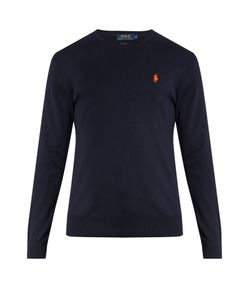 Polo Ralph Lauren | Logo-Embroidered Crew-Neck Cotton Sweater