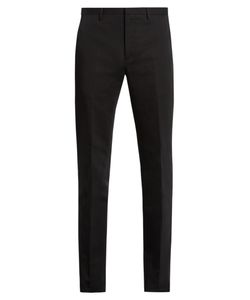 Calvin Klein Collection | Crosby Slim-Leg Cotton And Linen-Blend Trousers