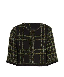 Andrew Gn | -Tweed Cropped Jacket