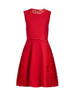 Giambattista Valli | Lace-Insert Sleeveless Mini Dress