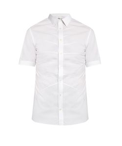Alexander McQueen | Rib-Cage Short-Sleeved Shirt