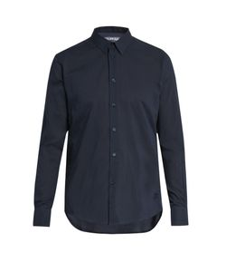 Vilebrequin | Caracal Button-Cuff Cotton-Voile Shirt