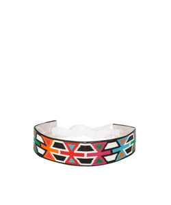 Andrew Gn | Geometric Bead-Embellished Belt