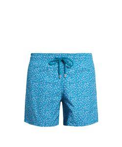 Vilebrequin | Moorea Micro Turtles-Print Swim Shorts