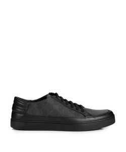 Gucci | Gg Supreme Low-Top Leather Trainers