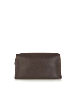 F. HAMMANN | Grained-Leather Washbag