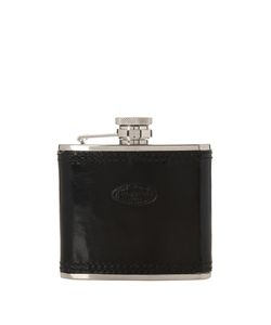 F. HAMMANN | Leather And Stainless-Steel 100ml Flask