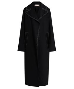 Marni | Contrast-Stitch Oversized Coat