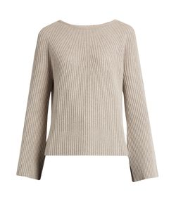 Helmut Lang | Flared-Sleeve Wool And Cashmere-Blend Sweater