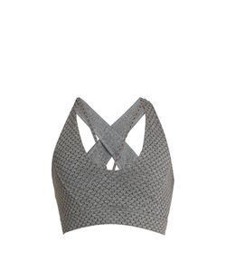 Track & Bliss | Honeycomb Cross-Back Performance Bra