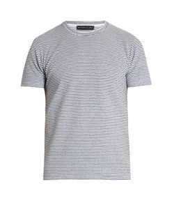 Etro | Striped Terry-Towelling T-Shirt