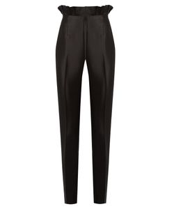 Gabriela Hearst | Margarete Slim-Leg Silk And Wool-Blend Trousers