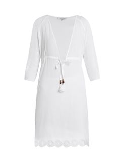 Heidi Klein | Ostuni V-Neck Cotton-Blend Kaftan