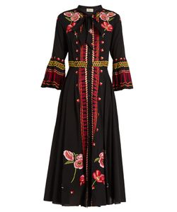 Temperley London | Amity Embroidered Cotton Dress