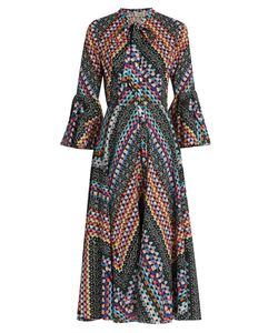 Temperley London | Kaleidoscope-Print Cotton Dress
