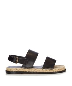 Valentino | Rockstud Espadrille And Leather Sandals