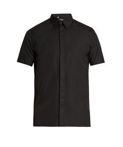 Dolce & Gabbana | Polka-Dot Cuff Cotton And Silk-Blend Shirt