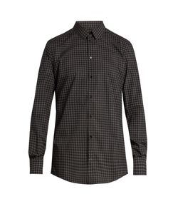 Dolce & Gabbana | Circle-Print Double-Cuff Cotton Shirt