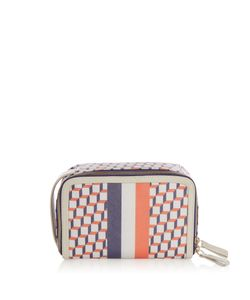 Pierre Hardy | Cube-Print Coated-Canvas Cosmetics Case