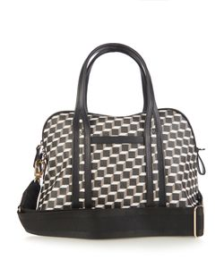 Pierre Hardy | Cube-Print Coated-Canvas Bag