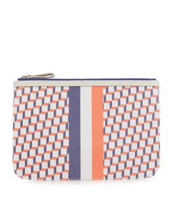 Pierre Hardy | Cube-Print Coated-Canvas Pouch