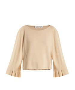 Elizabeth And James | Freja Fluted Bell-Sleeved Knit Sweater