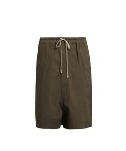 Rick Owens | Dropped-Crotch Drawstring Shorts