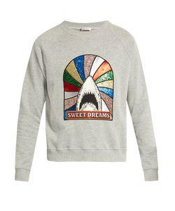Saint Laurent | Sweet Dreams-Embellished Sweatshirt