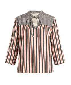 ACE & JIG | Constance Striped Cotton Top