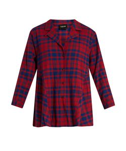 Rachel Comey | Yuca Plaid-Cotton Top