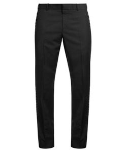 Alexander McQueen | Ribbon-Stripe Tuxedo Trousers