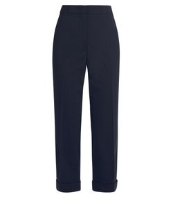 Jil Sander   Alfred Stretch-Wool Cropped Trousers