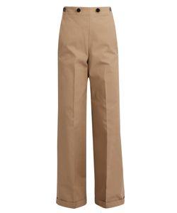 Jil Sander | Carlo Wide-Leg Panama Trousers