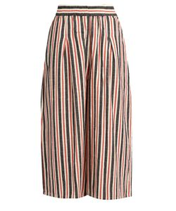 ACE & JIG | Jo Wide-Leg Striped Cotton Culottes