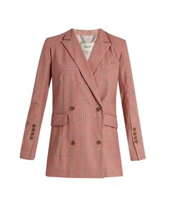 Rachel Comey   Rupture Double-Breasted Wool-Plaid Blazer