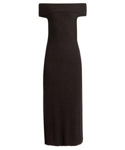 Elizabeth And James | Marbella Off-The-Shoulder Wool-Blend Dress