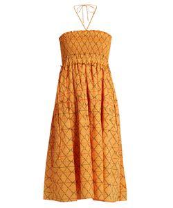 A PIECE APART | Nueva Nambe Smocked-Cotton Dress