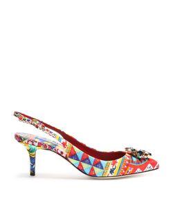 Dolce & Gabbana | Belluci Majolica-Brocade Pumps