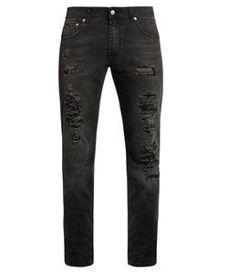 Alexander McQueen | Destroyed Skinny Jeans