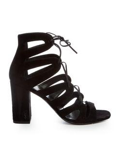 Saint Laurent | Babies Lace-Up Suede Sandals