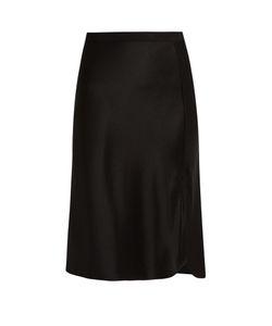 Nili Lotan | Lillie Silk-Satin Skirt