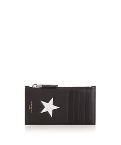 Givenchy | Star Print Leather Card Holder