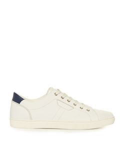 Dolce & Gabbana | Low-Top Perforated-Leather Trainers