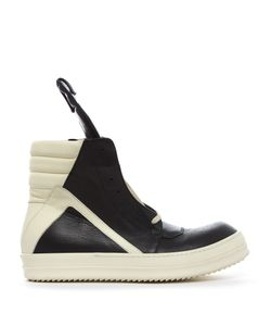 Rick Owens | Geobasket High-Top Leather Trainers