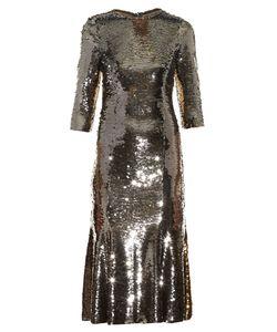 Dolce & Gabbana | Bi-Colour Sequinned Midi Dress
