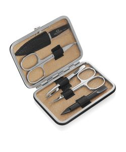 F. HAMMANN | Leather Medium Manicure Set