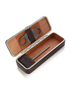 F. HAMMANN | Leather Cigar Travel Case