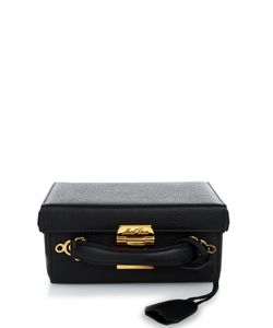 Mark Cross | Grace Small Grained-Leather Box Bag