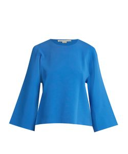 Stella Mccartney | Round-Neck Cut-Out Sleeve Sweater